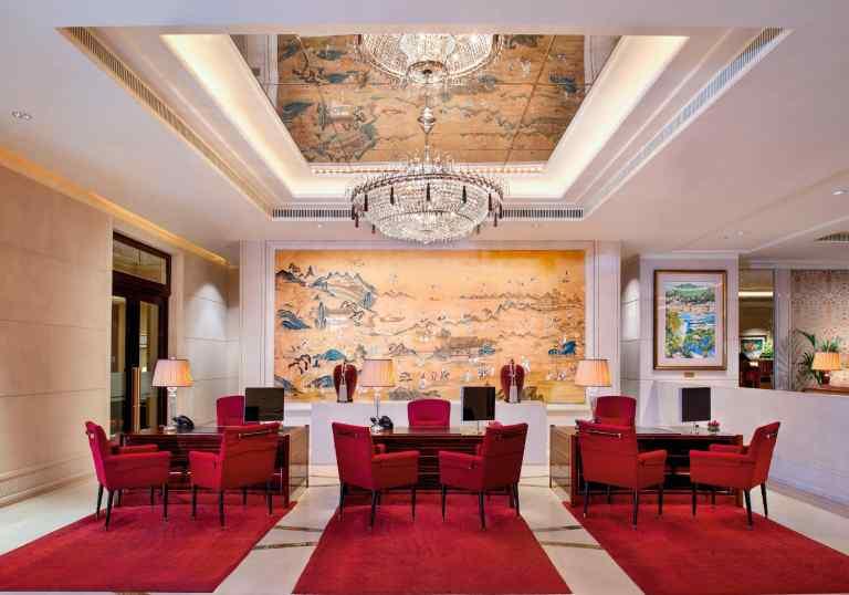 The Shangri-La Hotel Singapore | Nami Interior